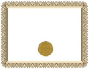 Certificate Template Blank Free Blank Certificate Print Blank Or Customize Online Free