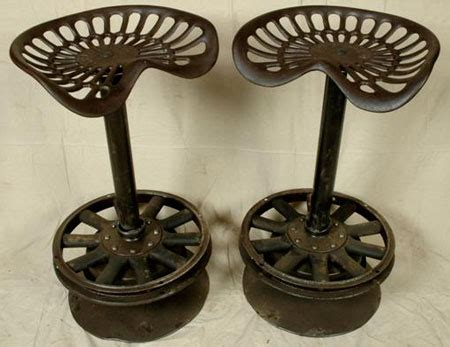 concept 2 tractor seat tractor seat bar stools i like the concept of using the