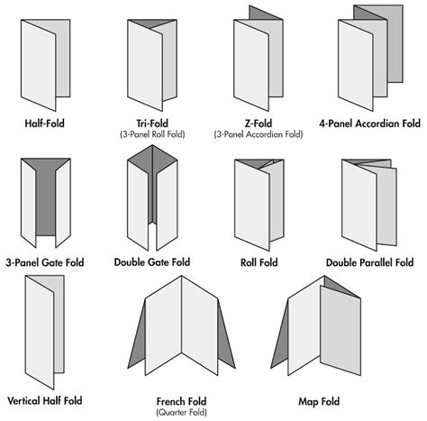 Different Origami Folds - around the office your office stop buying a letter