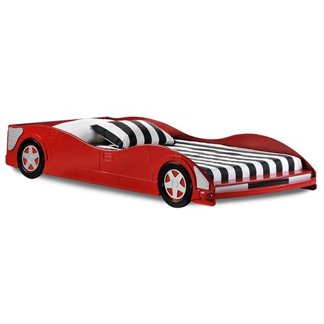 twin size race car bed dresden twin size race car bed low profile red dcg stores