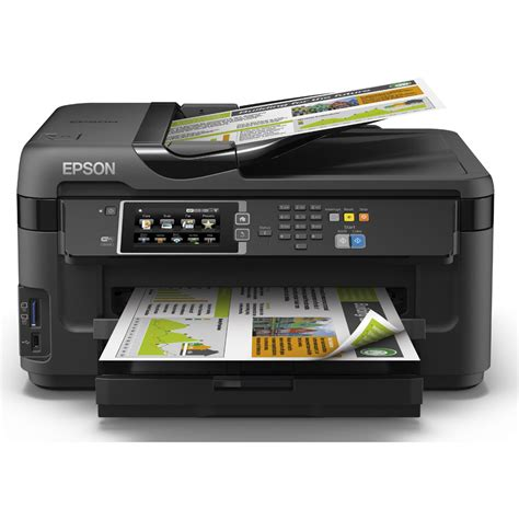Printer Epson epson workforce wf 7610dwf a3 colour multifunction inkjet printer c11cc98301