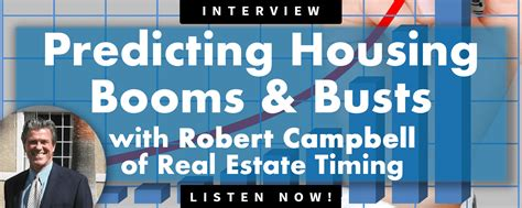 Usd Mba Real Estate by Robert Cbell Of Real Estate Timing Housing Booms