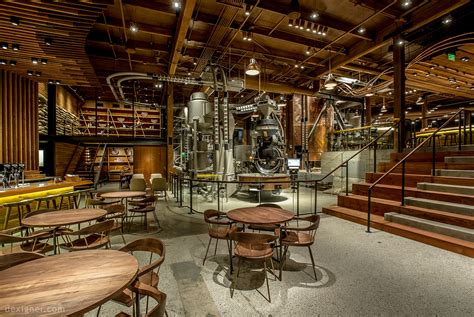 Starbucks Reserve Roastery and Tasting Room Reimagines the Coffeehouse Experience