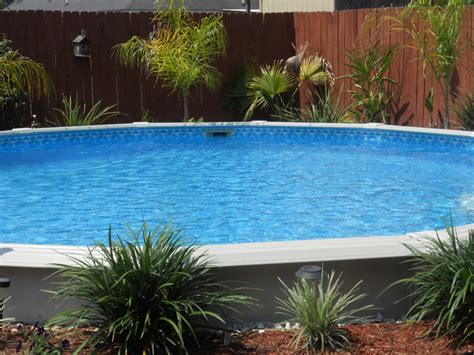landscape around pool above ground pool landscaping landscaping around base of
