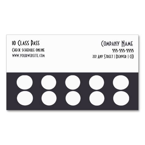 buy business card templates custom card template 187 buy 10 get 1 free punch card