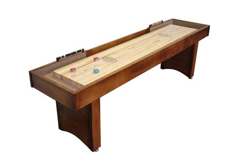 9 Foot Competitor Ii Shuffleboard Table Mcclure Tables Bar Shuffleboard Table