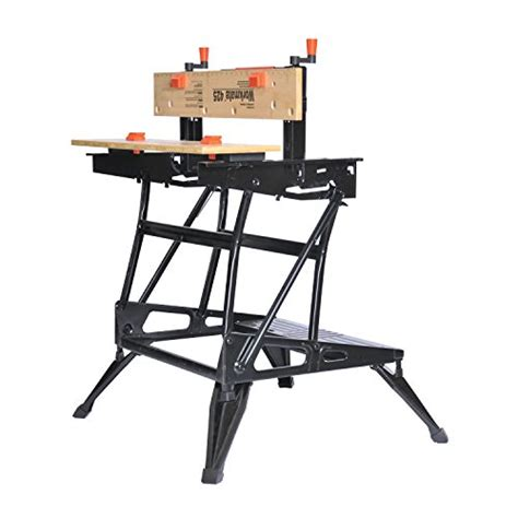 benchmark portable work bench black decker black decker wm425 workmate 425 550 pound