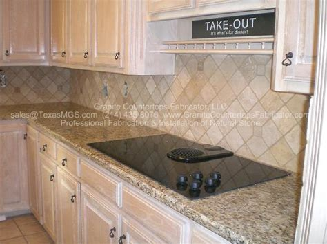 pics for gt tumbled travertine tile backsplash