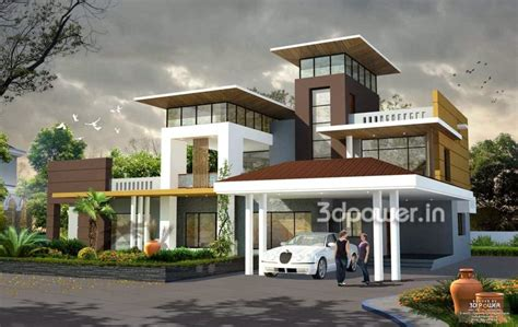 3d Exterior Home Design Free Download | home design house d interior exterior design rendering