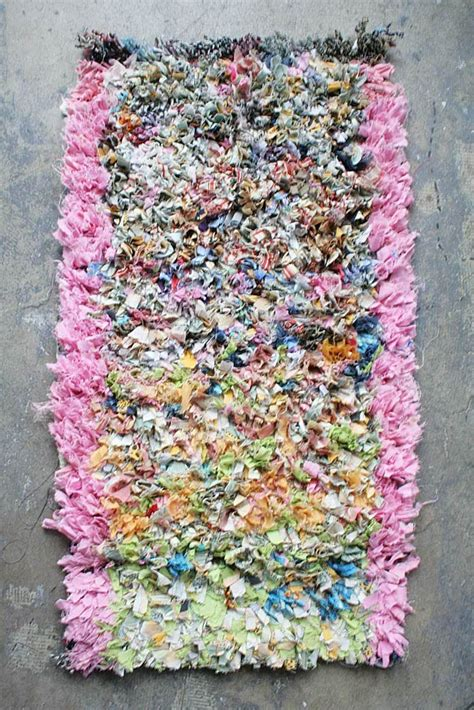 diy boucherouite rug 20 best images about shaggy rugs on carpets fabric rug and shag rugs