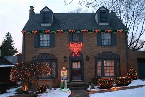 christmas led swag lights with bows 3d and lighting gallery by landscape lighting pro of utah