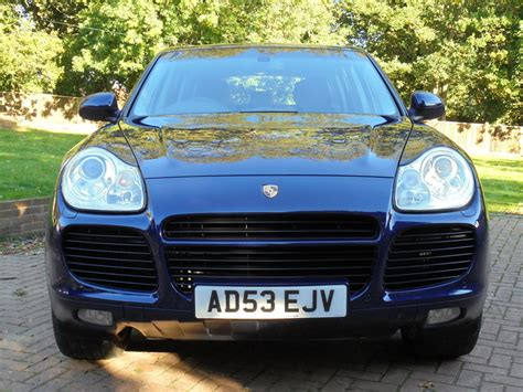 Turbo Sound Electric By Vauto porsche cayenne turbo tiptronic s kent and surrey used