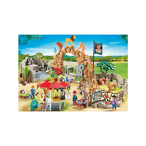 Playmobil Large Zoo playmobil large city zoo