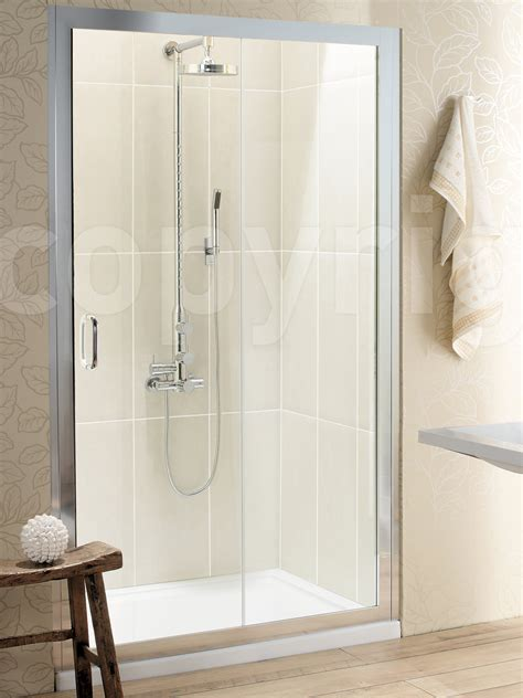 Classic Shower Door by Simpsons Classic Single Slider Shower Door 1000mm