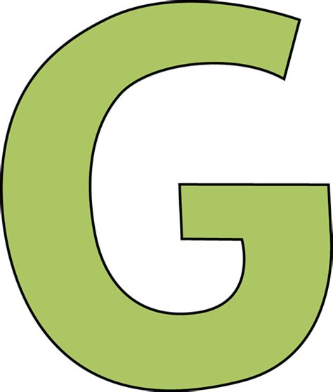 G Drawing Images by Green Letter G Clip Green Letter G Image