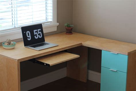 plywood desk diy plywood desk diy diy plywood desk bob vila plywood desk