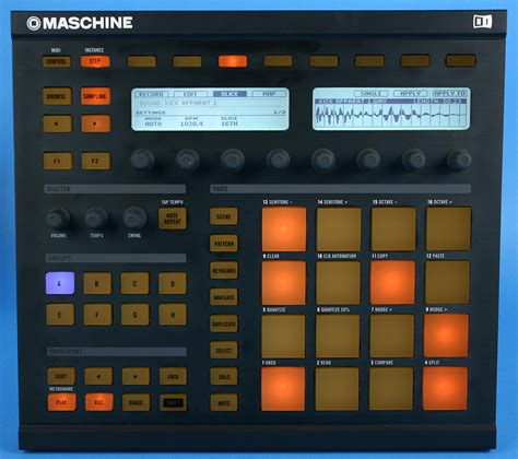 maschine pattern grid native instruments maschine