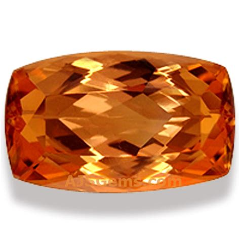Imperial Chagne Topaz 8 30ct top 10 investment gems at ajs gems