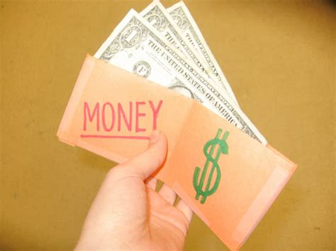 money crafts for diy paper wallet money holder factory direct craft