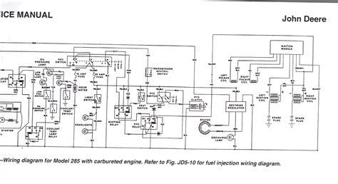 deere 318 wiring diagram deere 318 pto wiring