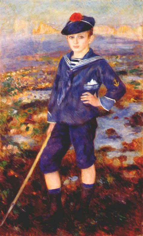 Sailor Boy sailor boy portrait of robert nunes 1883