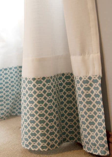 how to add length to curtains 17 best images about curtains on pinterest fabrics