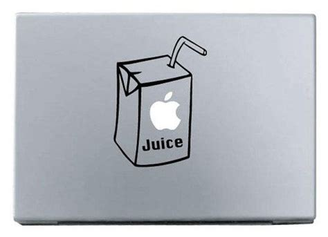 Macbook Aufkleber Apfelsaft by Apple Juice Macbook Decal Macbook Stickers Ipad By