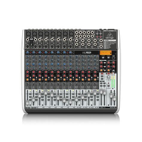 Behringer Xenyx Qx2222usb Mixer With Effects ม กเซอร behringer xenyx qx2222usb mixer space