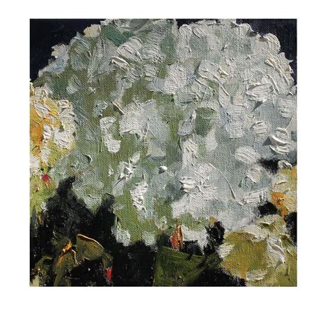 hydrangea painting on canvas hydrangea winter flower original oil painting on canvas by