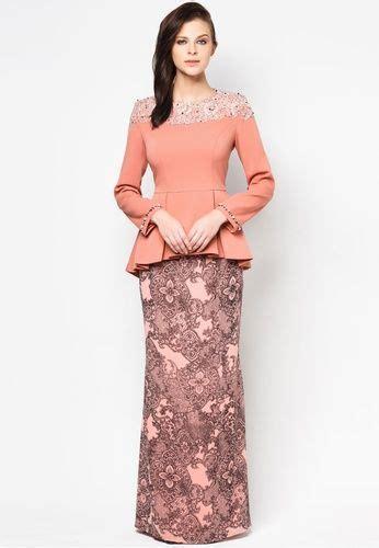 zalora malaysia baju kebaya chatalina baju kurung by jovian mandagie zalora kebaya