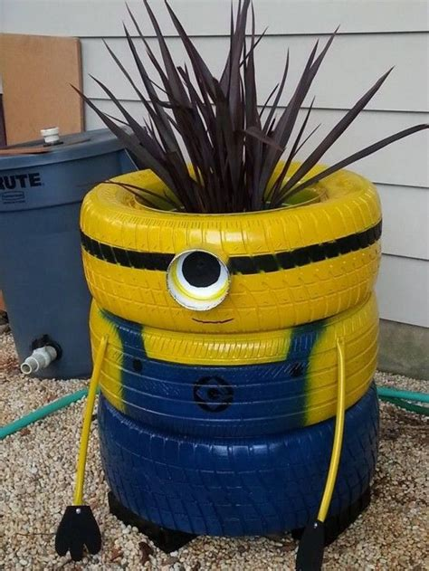 17 best ideas about tire planters on planters