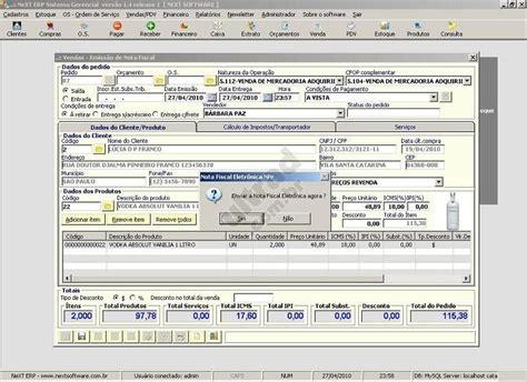 layout da nfe 3 1 next erp nfe plus nota fiscal eletr 244 nica download