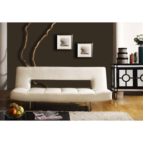 walmart sofa beds homelegance drake elegant lounger in white walmart com