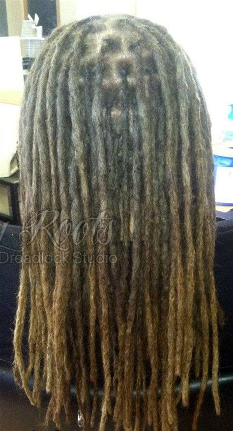 triangle pattern dreads chart of how to section dreads to achieve different sizes