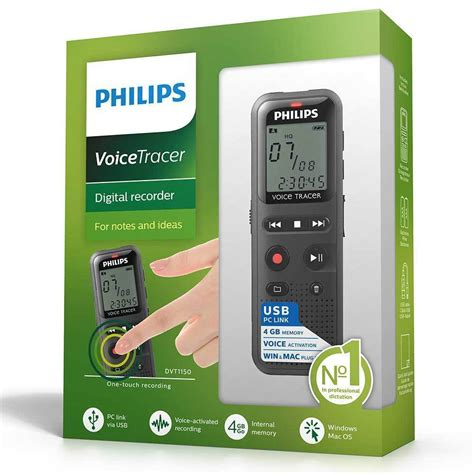 Audio Rekaman Philips Dvt 1150 4gb Free Microsd 16 Gb philips dvt1150 4bgb digital voice recorder activated audio tracer notes ideas ebay