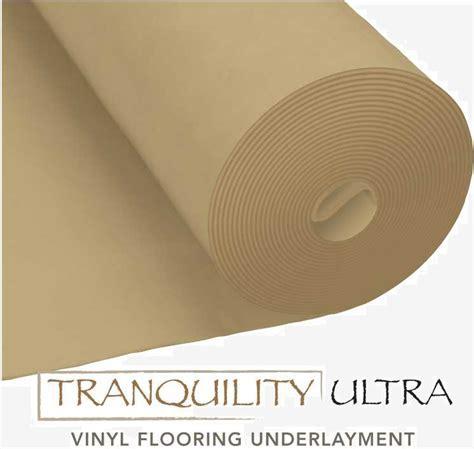 Flooring101   Tranquility Ultra Underlayment