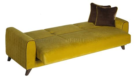 yellow sofa bed fabio lilyum yellow sofa bed in fabric by sunset w options