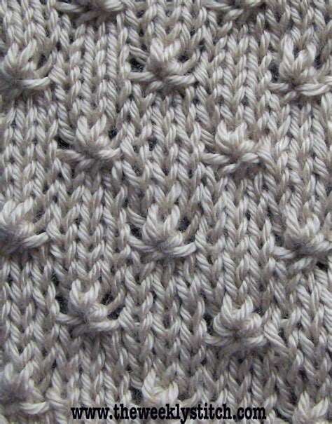 what is a stockinette stitch in knitting knot stitch just the right amount of texture to use in