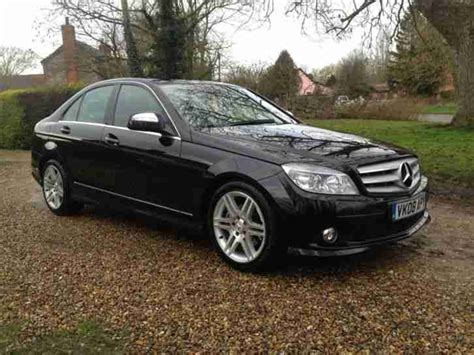 2008 Mercedes C200 2008 mercedes c200 sport cdi a black car for sale