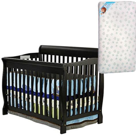 Walmart Cribs With Mattress On Me Crib Choose Your Style And Finish With Bonus Mattress Walmart