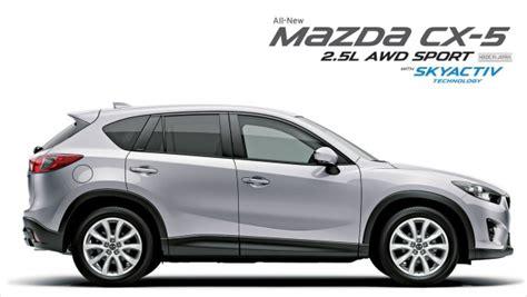 the mazda cx 5 2 5l awd sport expands the skyactiv range