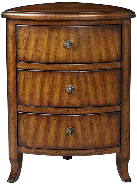 corner accent table with drawer edmund 3 drawer corner table 55downingstreet com for