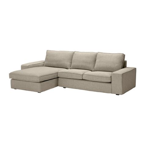 kivik sofa and chaise lounge sectional fabric sofas ikea