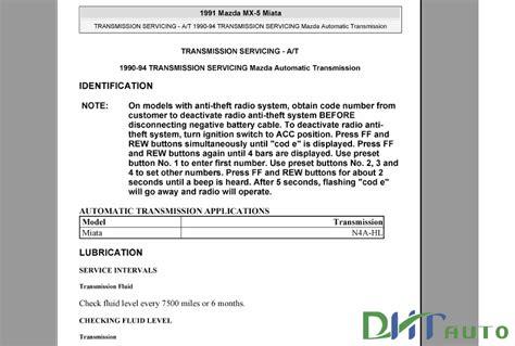 auto repair manual free download 1990 mazda b series parental controls mazda miata extra 1990 2005 service repair manual automotive library