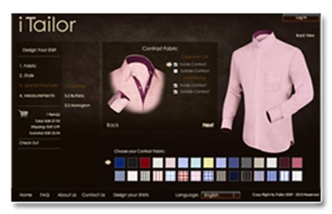 Custom Shirts Without Meeting The Tailor by Mission Custom Dress Shirts S Dress Shirt Itailor