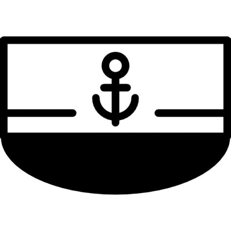 boat front icon boat front view with anchor sign icons free download