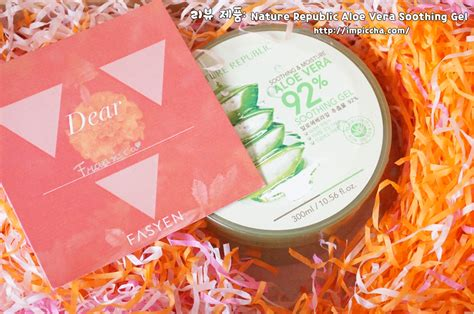 Harga Nature Republic Aloe Vera Gel Review review nature republic aloe vera soothing gel im piccha