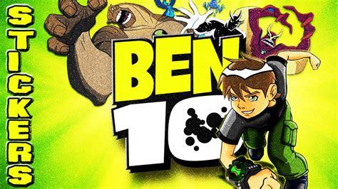 Sticker Nama Ben 10 ben 10 ultimate 1 best figure stickers