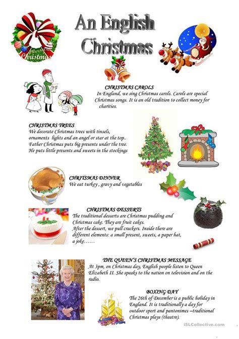english printable worksheets christmas an english christmas worksheet free esl printable