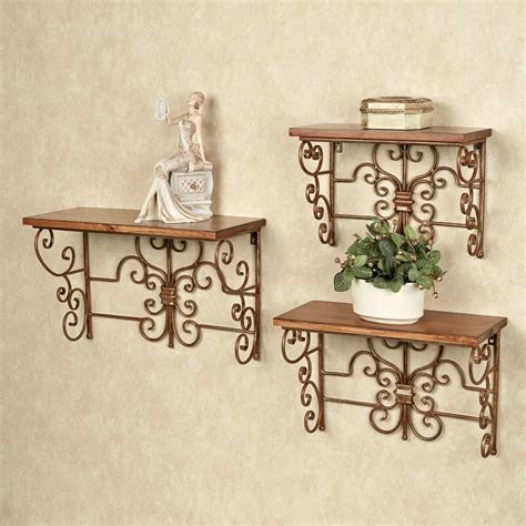 soria decorative wall shelf set